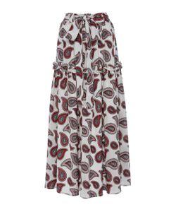 Dodo Bar Or | Stevie Paisley Tie Maxi Skirt