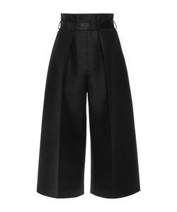 Martin Grant | Silk Wool High Waisted Bermuda Pants