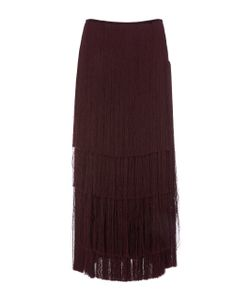 Prabal Gurung | Tie Fringe Skirt