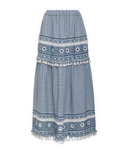 Dodo Bar Or | Ataliya Embroide Maxi Skirt