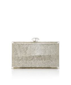Judith Leiber Couture | Crystallized Rectangle Clutch