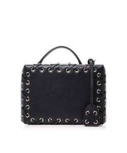 Mark Cross | Grace Small Box Bag With Lacing