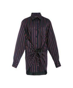 Adam Selman   Satin D Tie Front Shirt