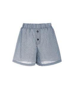 Adam Selman   Gingham Boxer Shorts