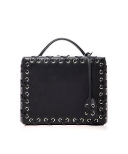 Mark Cross | Grace Large Box Bag With Lacing