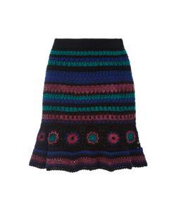 Adam Selman   Crochet Mini Skirt