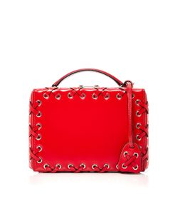 Mark Cross | Brush Off Grace Small Box Bag With Lacing