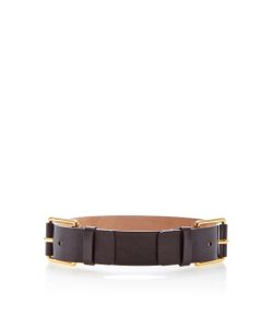 Michael Kors Collection   Twin Buckle Belt