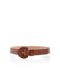 Michael Kors Collection   Medium Leather Belt
