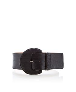 Michael Kors Collection   Gloss Python Belt
