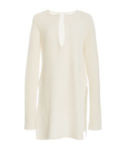 Rosetta Getty | Ribbed Slit Front Tunic