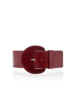 Michael Kors Collection   Extra Large Leather Belt