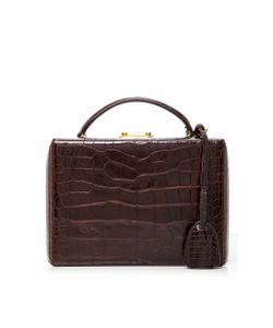 Mark Cross | Crocodile Grace Mini Box Bag