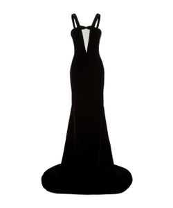 Alex Perry | Kane Sheer Front Strap Gown