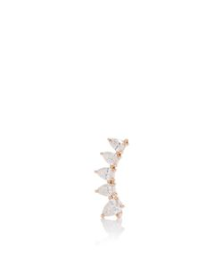 Anita Ko | Right Pear Diamond Floating Earring