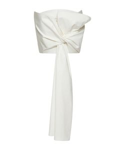 Delpozo | Strapless Draped Bow Top
