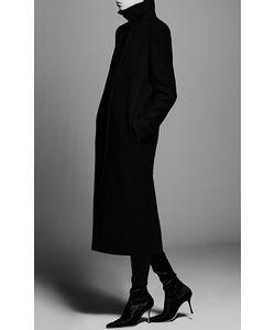Protagonist   Wool Cocoon Coat