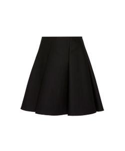 Paule Ka | Duchess Satin Fla Skirt