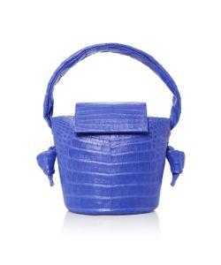 Nancy Gonzalez | Crocodile Bucket Bag