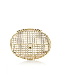 Anndra Neen   Metal Cage Clutch