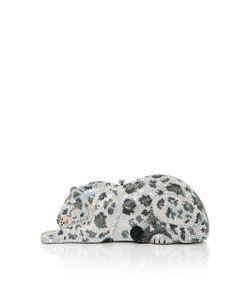 Judith Leiber Couture | Snow Leopard Wildcat Clutch