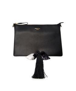 Paule Ka | Leather Crossbody Bag With Tassel