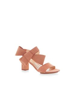 Delpozo | Bow Sandal With High Heel