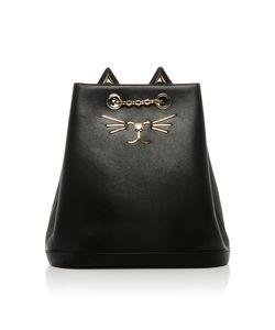 Charlotte Olympia | Feline Leather Backpack