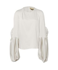Hellessy | Sage Butterfly Sleeve Blouse