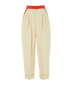Delpozo | High Waisted Cropped Trousers
