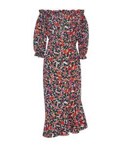 Saloni   Grace Off The Shoulder Ed Dress