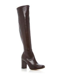 Paule Ka | Leather Knee High Boots