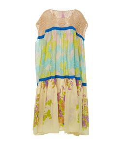 Yvonne S | Crochet Pleated Maxi Dress