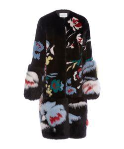 Prabal Gurung | Motif Mink And Fox Fur Coat