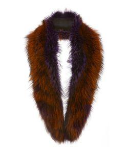 Sally Lapointe | Violet Short Fox Stole