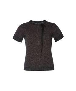 Adam Selman   Glit-Her Sparkly Knit Tee