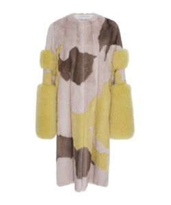 Prabal Gurung | Cuff Sleeve Mink And Fox Fur Coat
