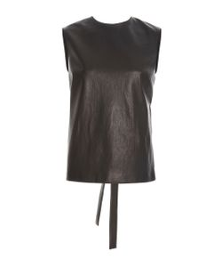 Rosetta Getty | Leather Shell Top