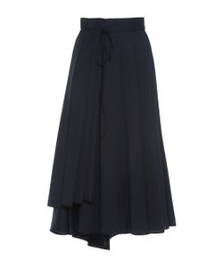 Dice Kayek | Pleated A-Line Skirt