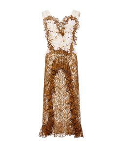 Rodarte | Amber Hand Embroide Honeycomb Dress