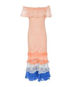 Jonathan Simkhai | Ruffled Stretch-Knit Stretch-Cotton Dress