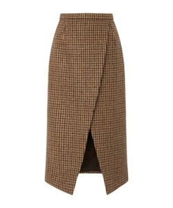 Michael Kors Collection   Houndstooth Scissor Skirt