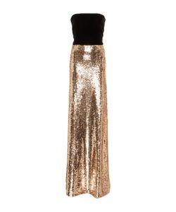 Monique Lhuillier | Strapless Column Gown