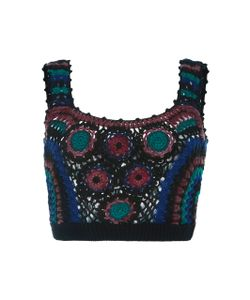 Adam Selman   Nana Crochet Crop Top