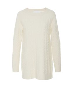 Co | Cashmere Crepe Cable Knit Sweater