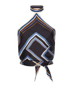 Martin Grant | Knotted Halter Scarf Top