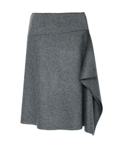 Tomas Maier | Draped Felted Wool Skirt