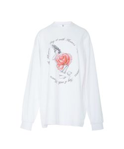 Adam Selman   Say It With Flowers Pullover