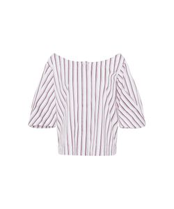 Isa Arfen | Bunting Off The Shoulder Blouse