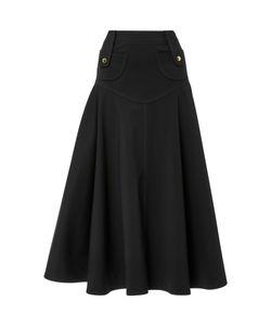Derek Lam | High Waist Flare Mini Skirt